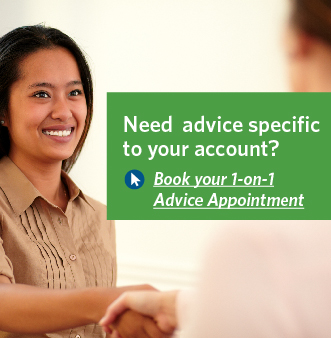 Book your 1-on-1 Advice Appointment